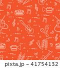 音譜 音楽 ベクトルのイラスト 41754132