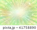 背景 放射状 輝きのイラスト 41758890