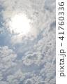 Clouds in the blue sky 41760336