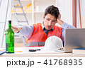 アルコール 酔っぱらい 酔っぱらったの写真 41768935