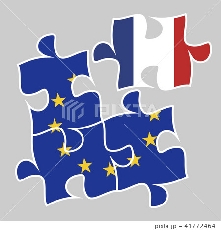 participation of france in the euro economyのイラスト素材 41772464