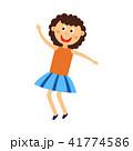 子供 女の子 女子のイラスト 41774586