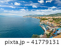 Aerial view of Sorrento and Gulf of Naples, Italy 41779131