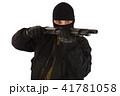 狙う 銃 強盗の写真 41781058