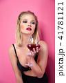 ぶどう酒 ワイン 葡萄酒の写真 41781121