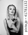 ぶどう酒 ワイン 葡萄酒の写真 41781132