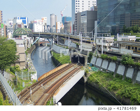 御茶ノ水駅 聖橋からの風景 41781469