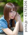 ポートレートモデルほおづえ 41785206