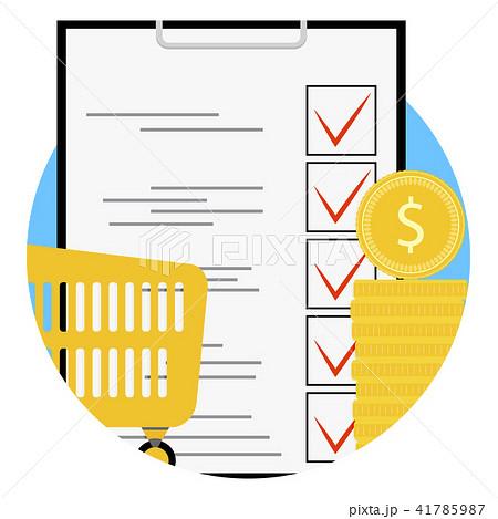 Planning supermarket app icon 41785987