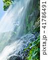 水しぶき 乙女滝 初夏の写真 41786491