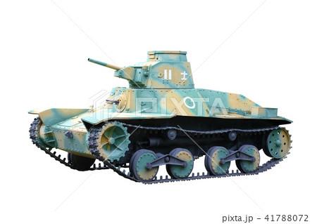 type 95 ha go light tank japan の写真素材 41788072 pixta