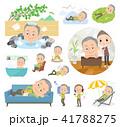 男性 人物 おじいさんのイラスト 41788275