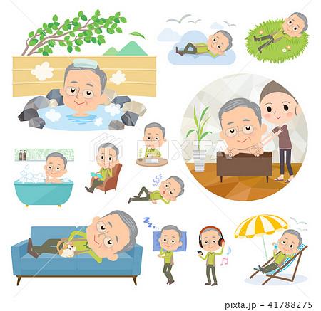 Green wear grandfather_relax 41788275