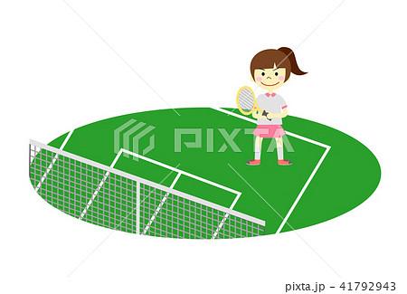 テニス 女の子 41792943