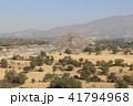 月のピラミッド ピラミッド テオティワカンの写真 41794968
