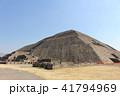 太陽のピラミッド ピラミッド テオティワカンの写真 41794969