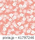 花 花柄 パターンのイラスト 41797246