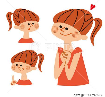 嬉しそうな笑顔の女性 バリエーション 41797607