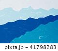 和紙 和柄 模様のイラスト 41798283