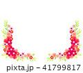 花 フレーム 植物のイラスト 41799817