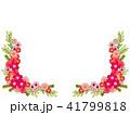 花 フレーム 植物のイラスト 41799818