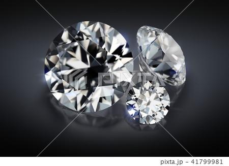 three diamonds on a dark background 41799981