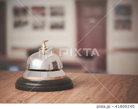 3D Rendering Reception bell 41800240