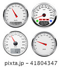 スピードメーター 速度計 立体のイラスト 41804347