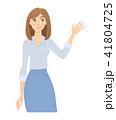 少女 ベクトル キャラクターのイラスト 41804725