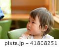 家族 幼児 園児 赤ちゃん 1歳 41808251