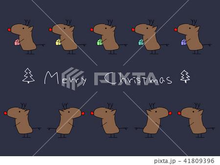 プレゼントとかわいい鹿  【カラフル】 41809396