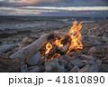 たき火 焚き火 焚火の写真 41810890
