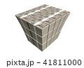 お金 紙幣 札束のイラスト 41811000