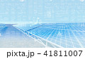 太陽光発電 ソーラーパネル ソーラー発電のイラスト 41811007
