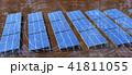 太陽光発電 ソーラーパネル ソーラー発電のイラスト 41811055