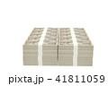 お金 CG 札束のイラスト 41811059