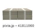 お金 CG 札束のイラスト 41811060