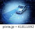 テクノロジー センサー 自動車のイラスト 41811092