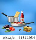 料理 クッキング 調理のイラスト 41811934