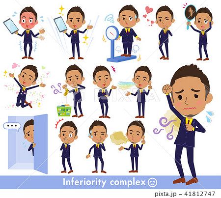 Short hair businessman black_complex 41812747