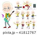 Yellow Ocher knit old man White_pop music 41812767
