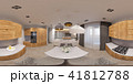 3d illustration interior design spherical 360 seamless panorama  41812788