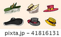 帽子 ハット ビンテージのイラスト 41816131