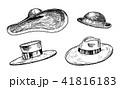 帽子 ハット ビンテージのイラスト 41816183