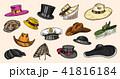 帽子 ハット ビンテージのイラスト 41816184