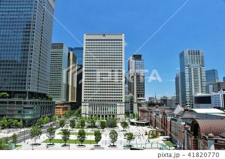 青空の東京駅 41820770