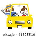 ドライブ 女子旅 車のイラスト 41825510