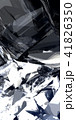 反射する金属片 41826350