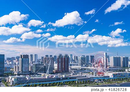 《東京都》お台場・都市風景 41826728