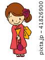浴衣の女の子 41826900